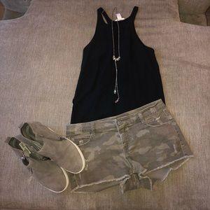 Pants - Camo Short Shorts!